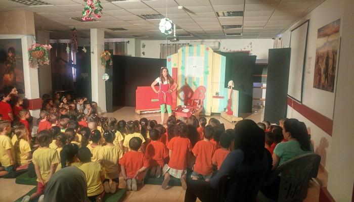 مسرحية تيك تاك للاطفال في كابول